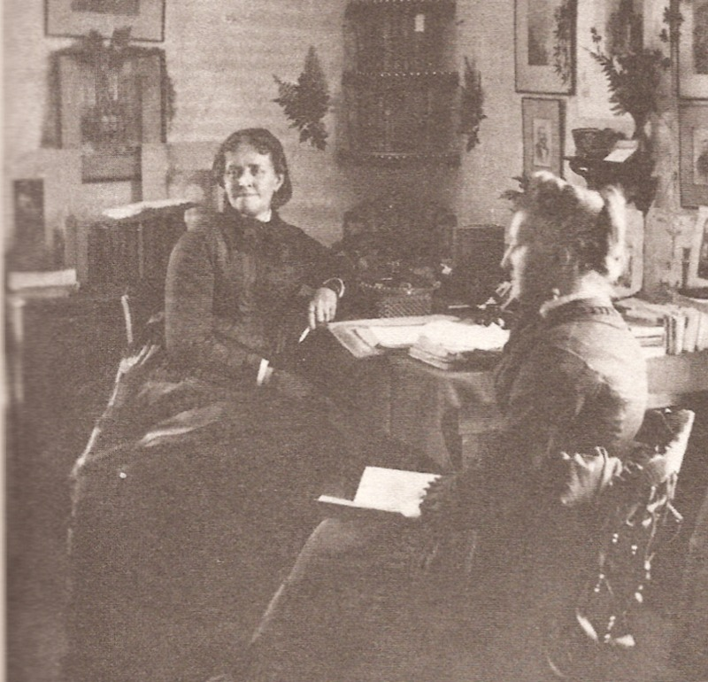 Helen Hunt Jackson at home