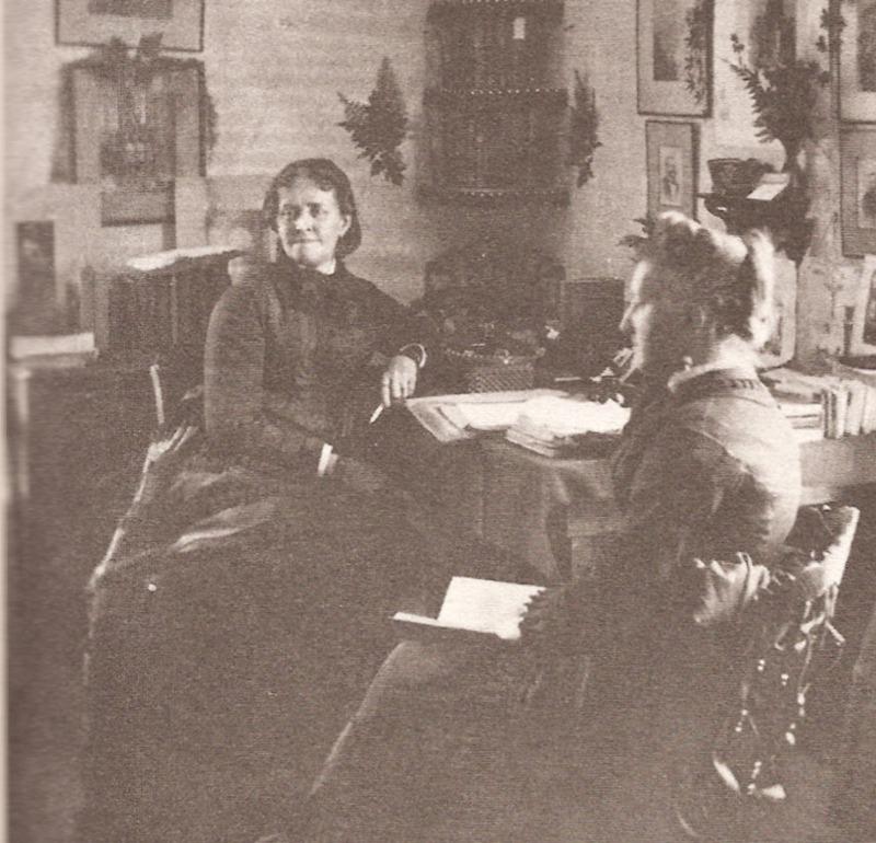 Helen Hunt Jackson at home