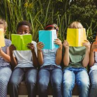 Students Reading Books